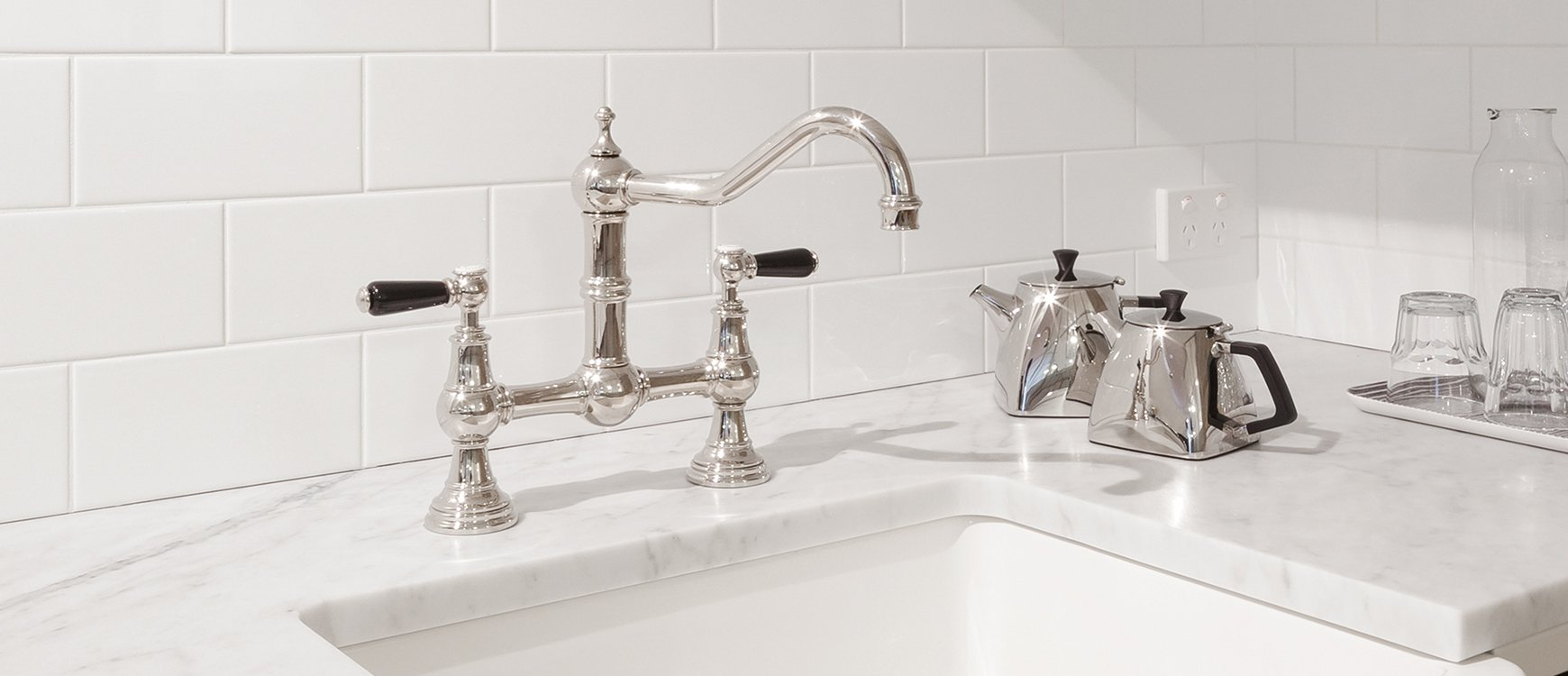 how to change bathroom taps