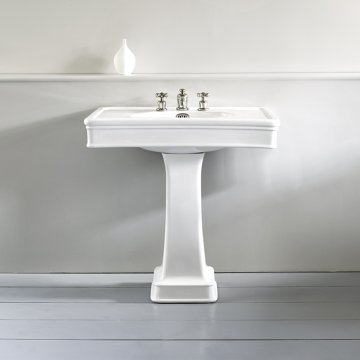 Traditional English Ceramic Basins In White Or Coloured For Bathroom The English Tapware Company