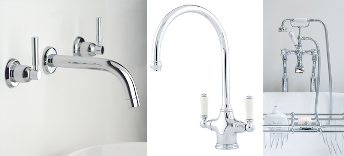 Tap, Sink & Handle Finishes: Brass, Bronze, Polished & Satin Chrome ...