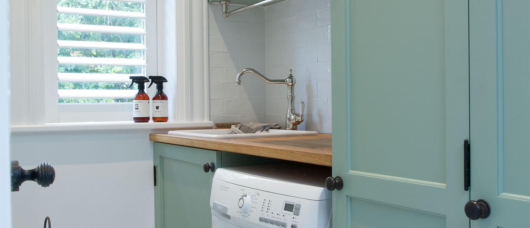 Laundry Design Ideas | Kitchen & Laundry Renovation | The English ...