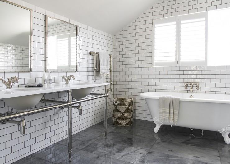 Black White Bathrooms Subway Tiles Black And White The English Tapware Company